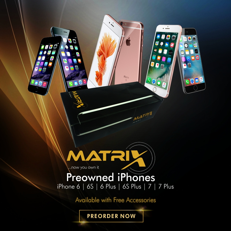 MORE OPTIONS FOR NIGERIANS AS MATRIX SET TO LAUNCH PRE-OWNED DEVICES (PHOTOS)