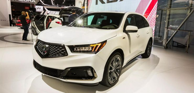 2019 Acura Mdx A Spec Debuts At 2018 New York Auto Show Pictures