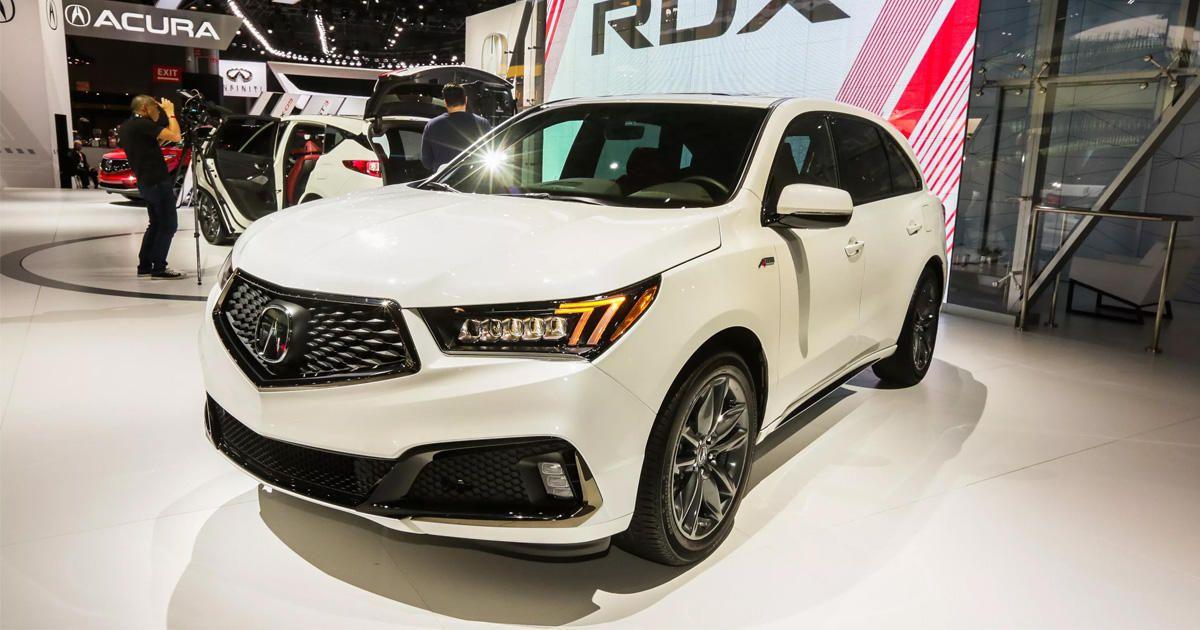 Acura Mdx Vs Rdx >> 2019 Acura MDX A-Spec Debuts At 2018 New York Auto Show (Pictures)