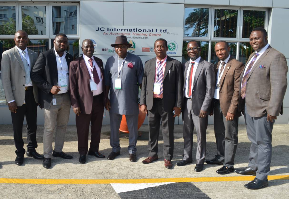 Courtesy Visit by Officials of Petroleum Training Institute (PTI) to JC International - Brand Spur