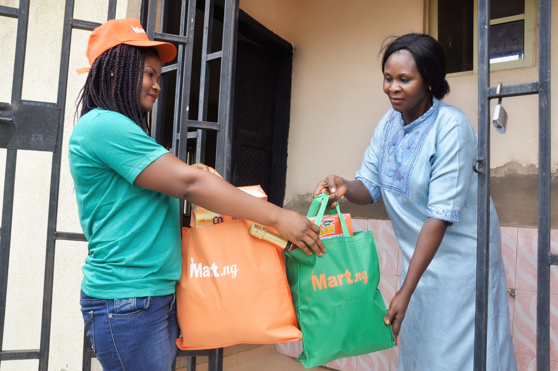 Online Supermarket & 59 Minutes Grocery Delivery Service Mart.NG Launches in Abuja, Nigeria (Pictures)