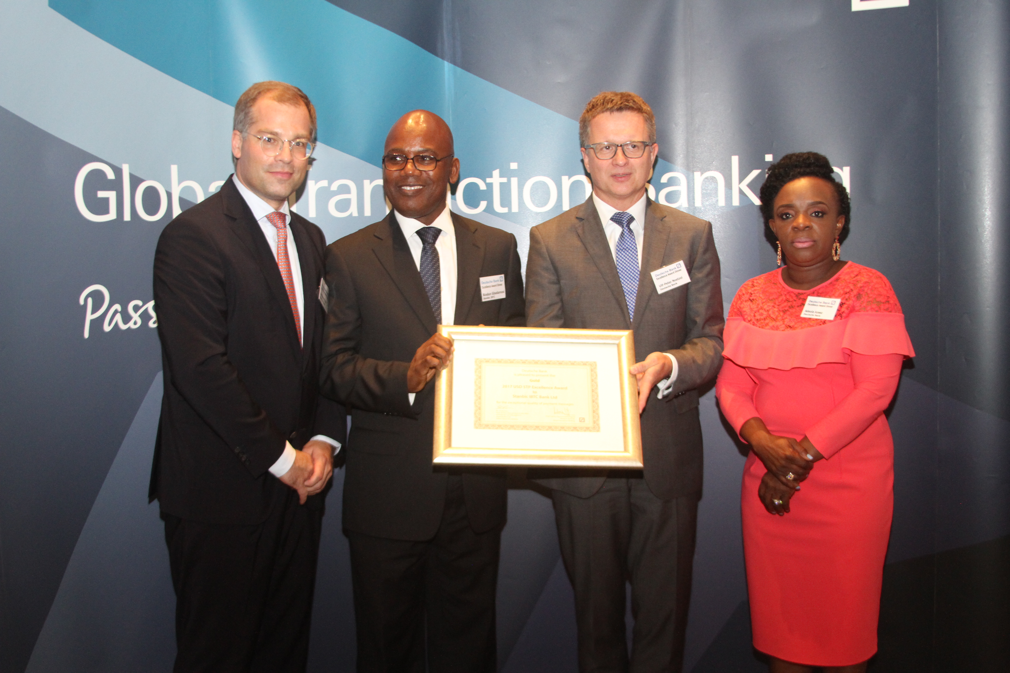 Deutsche Bank's 2017 Awards for Excellence in Cash Management and Trade Finance in Nigeria - Brand Spur