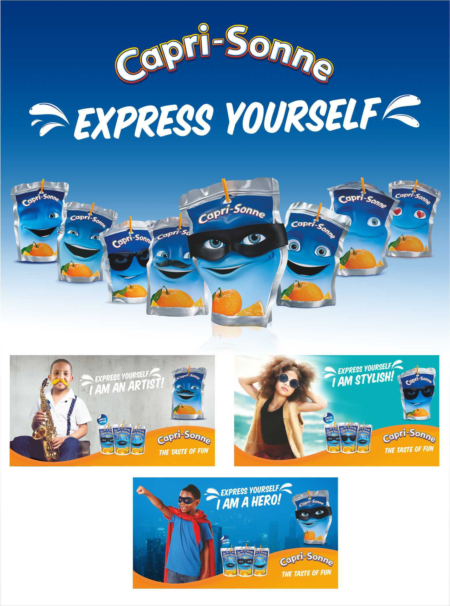 Children Express Themselves With Capri - Sonne Emoji Pouches (Pictures) - Brand Spur