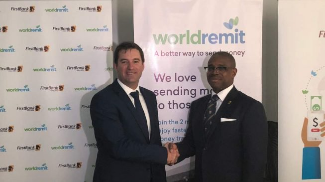 Firstbank Partners with WorldRemit for Digital Money Transfers To Nigeria (Pictures)