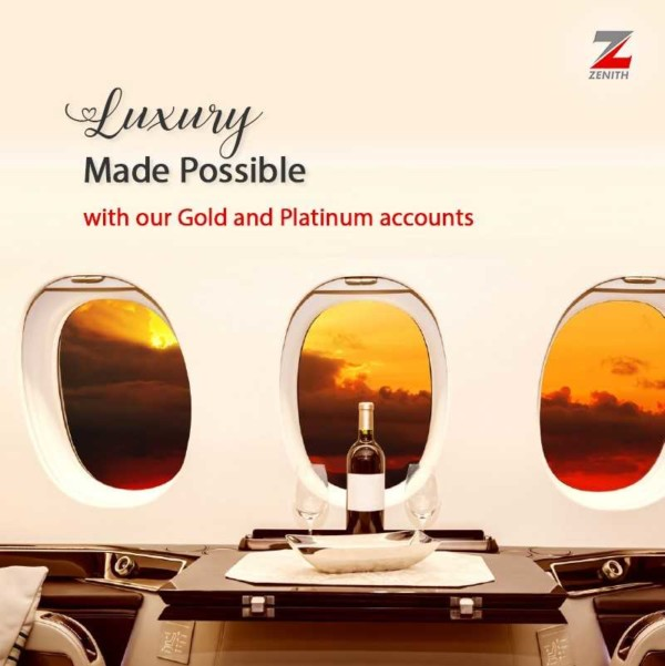 Show your Class & Style with a Zenith Bank Premium Account