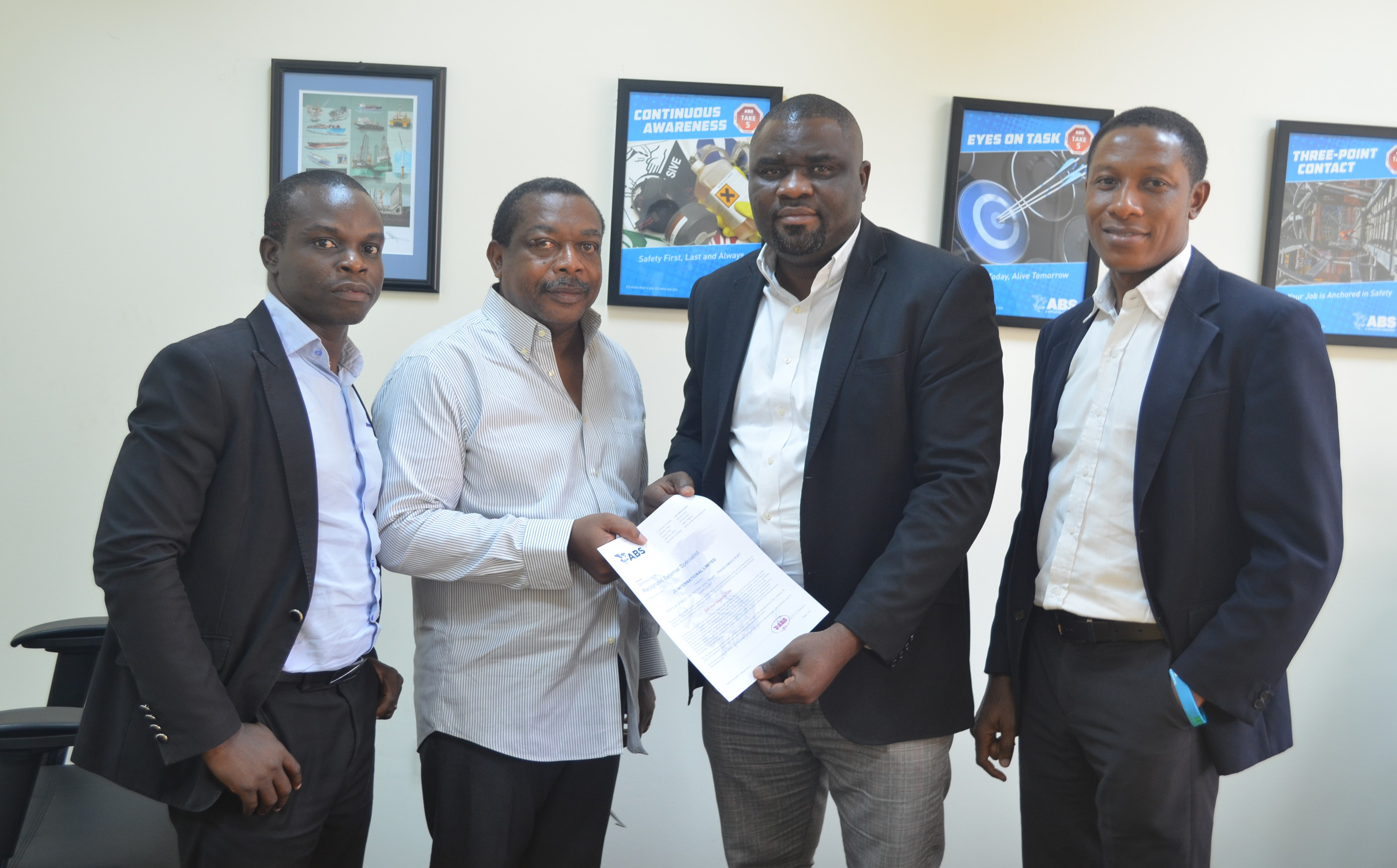 JC International Bags Another Certification From American Bureau of Shipping