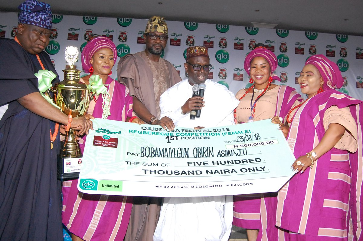 30-Year-Old Teacher wins Glo's 2018 Ojude Oba Star Prize (Photos)
