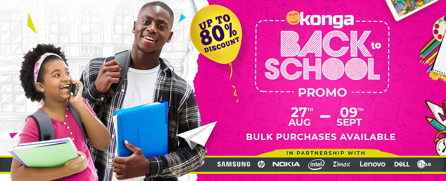 KONGA GOES HOT ON BACK TO SCHOOL PROMO - Brand Spur