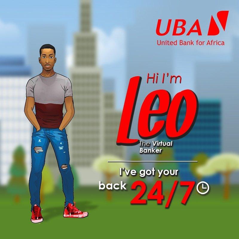 UBA-introduces-Leo-brandspurng