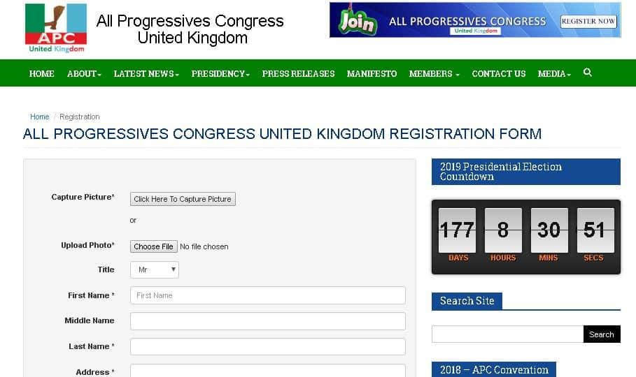 MEMBERSHIP REGISTRATION: APC UK UNVEILS NEW PORTAL FOR UK RESIDENTS TO REGISTER