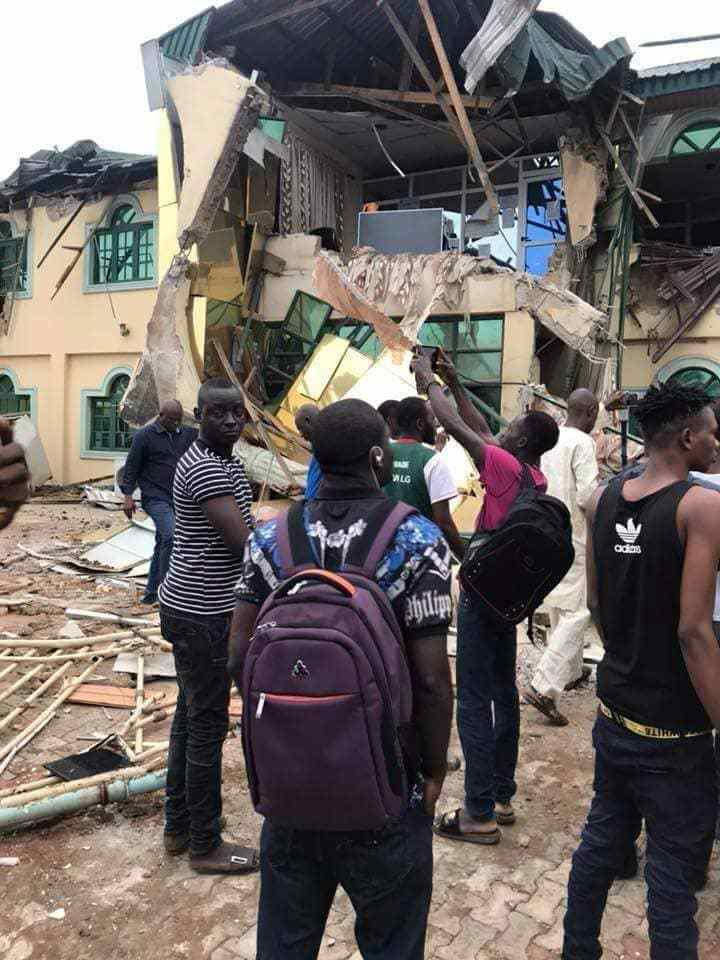 Oyo State Government demolishes Ayefele's N800m Music House (Photos)