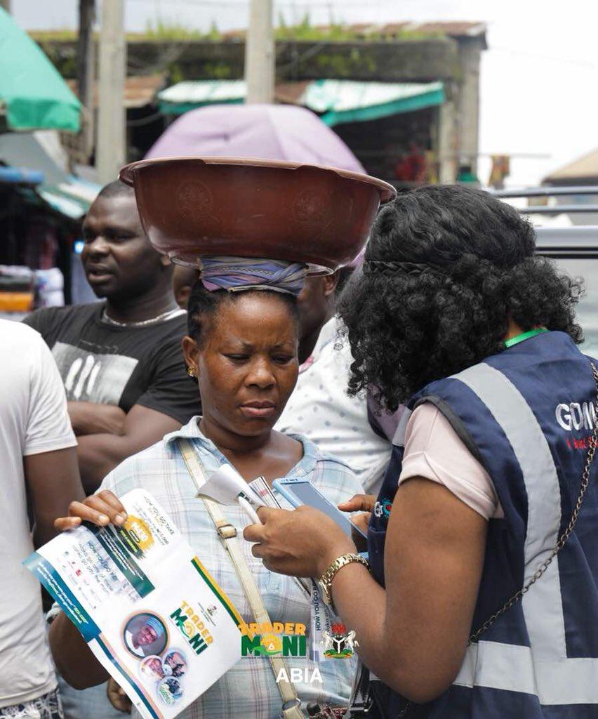 TRADERMONI SCHEME PHOTO NEWS FROM LAGOS, KANO AND ABIA