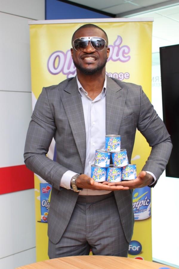 Peter Okoye named Olympic Milk Brand ambassador for the Fourth Year