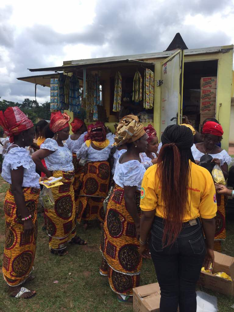 Photo News: Three Crowns Milk at the Mbaise Women's August Meeting in Imo