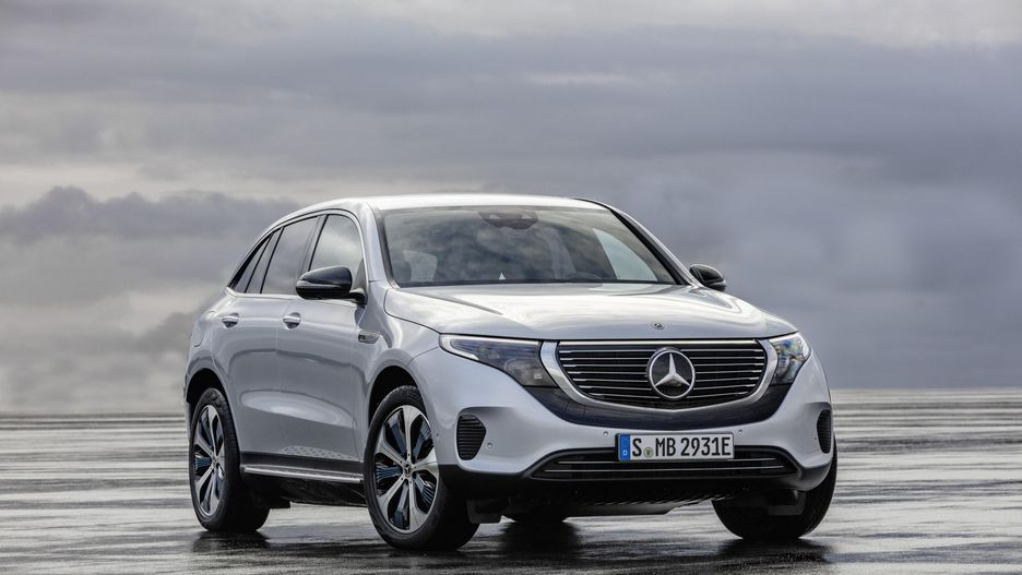 Mercedes-Benz unveils its first electric SUV (Photos)
