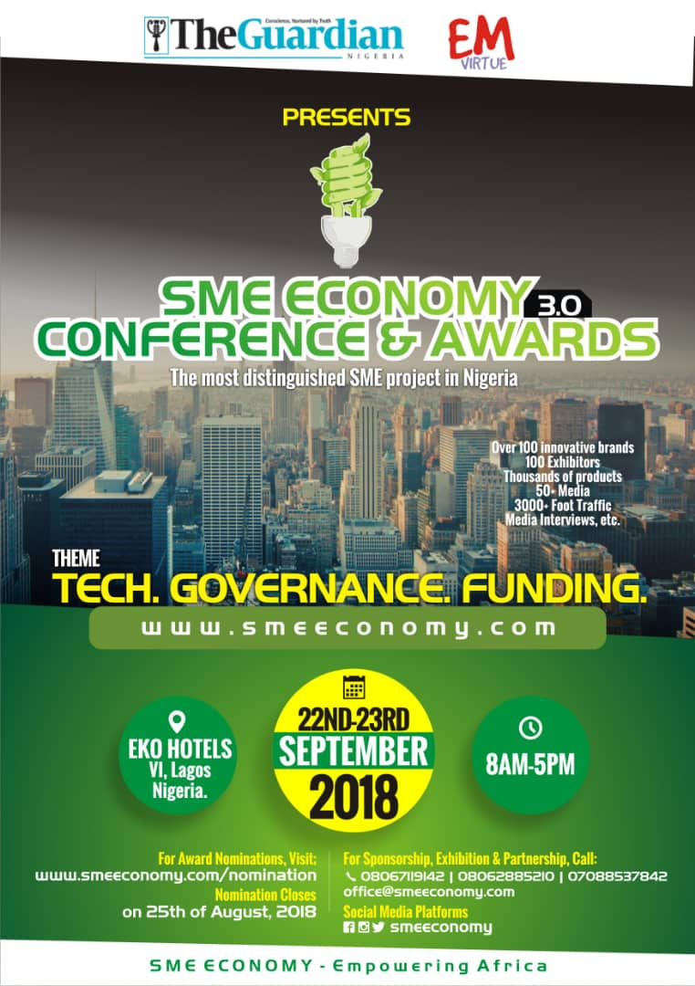 Speaker Mudashiru Obasa & Ikpeazu To Speak at SME Economy Conference & Award 2018 - Brand Spur