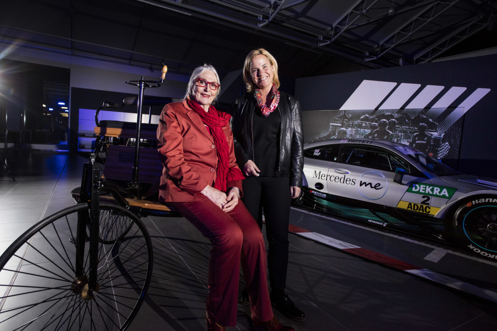 Great-granddaughter of Bertha and Carl Benz: Jutta Benz celebrates her 75th birthday this year (PHOTOS)