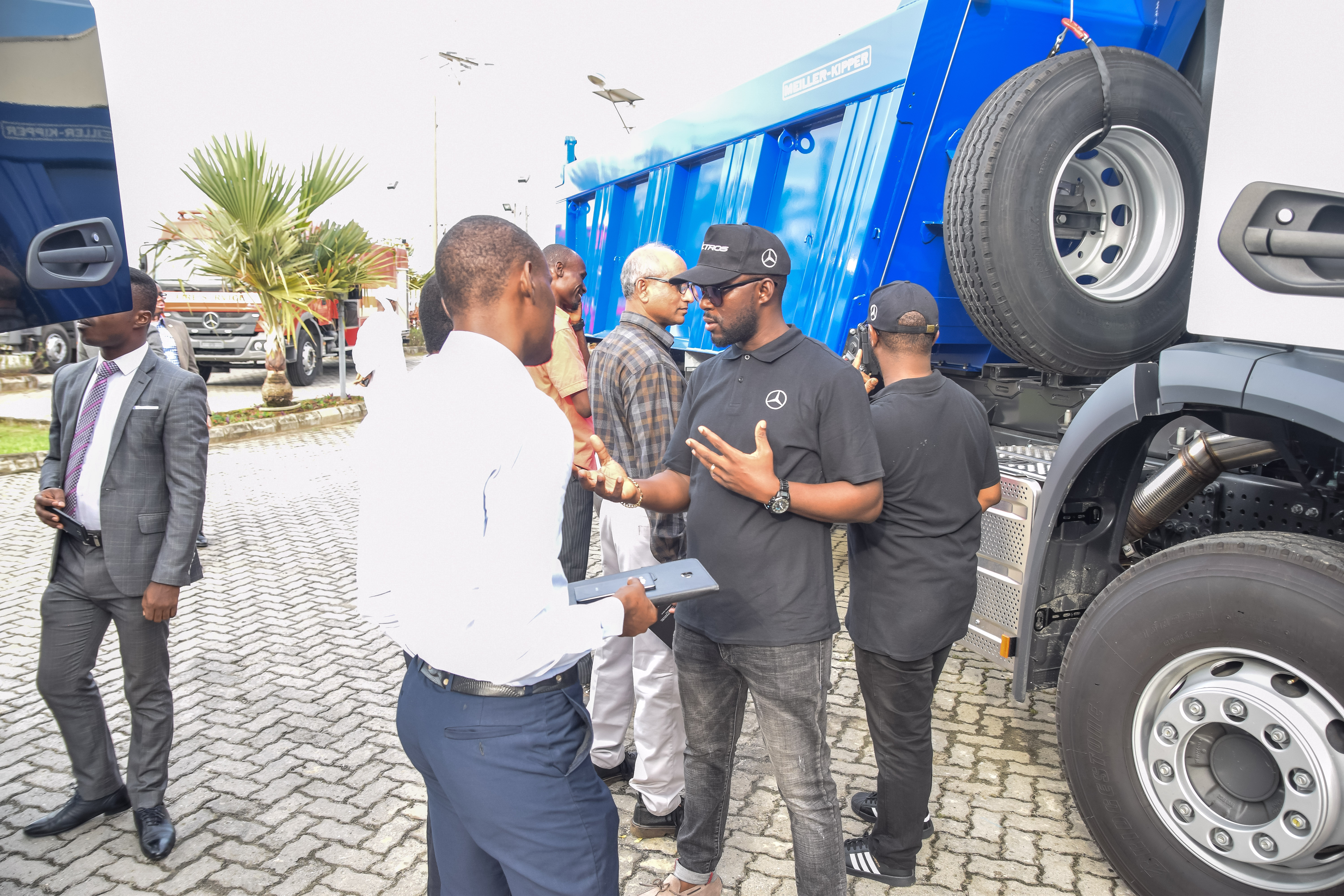 Pictures from the all-new Mercedes-Benz Actros and Arocs truck launch event in Lagos