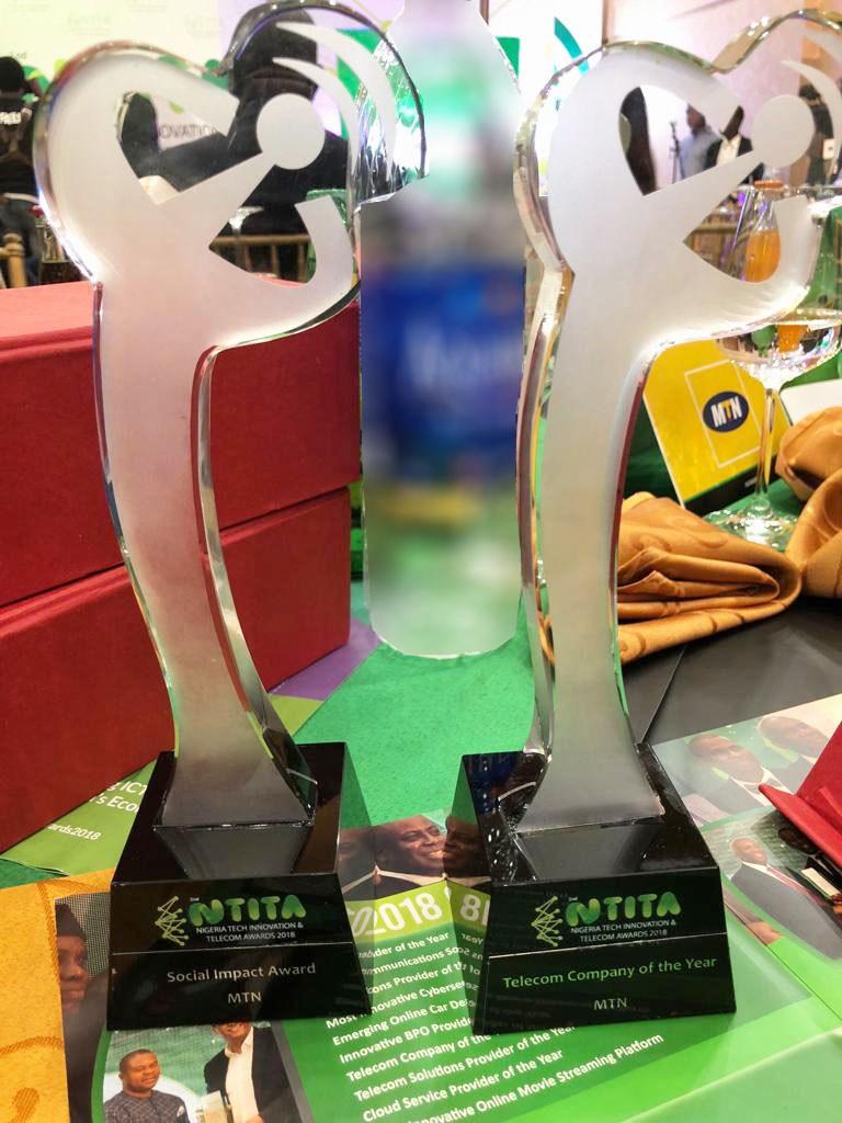 MTN Shines At ATCON Awards