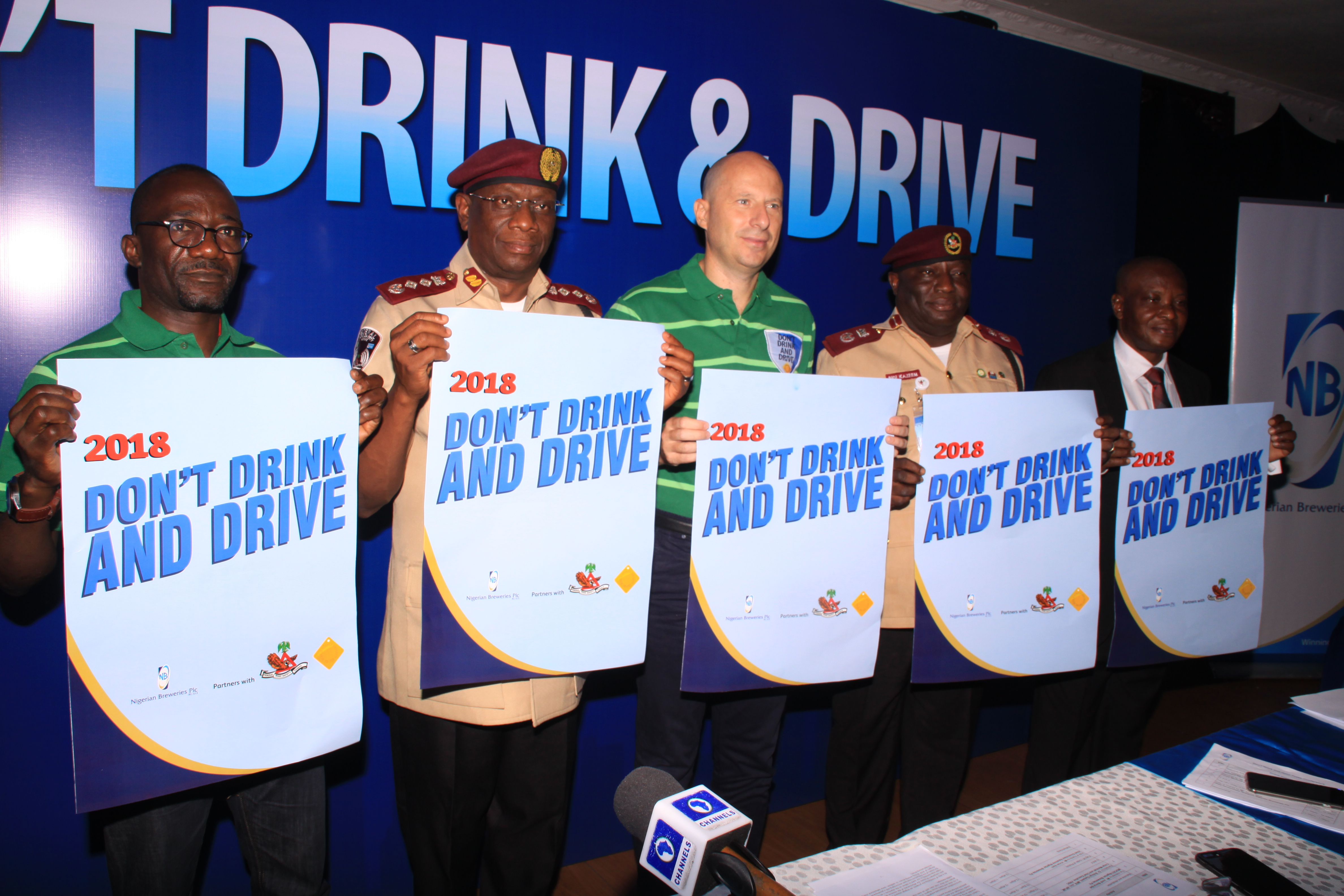 Nigerian Breweries, FRSC Flag off 2018 Don't Drink and Drive Campaign - Brand Spur