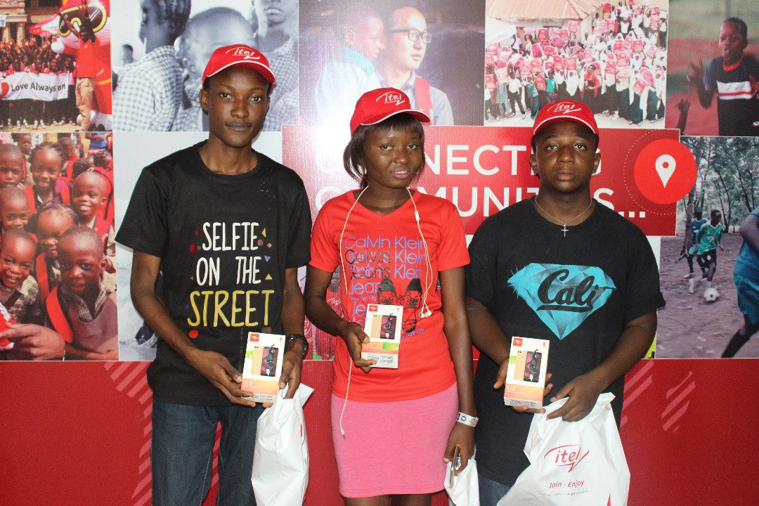 Photos of Itel Mobile Selfie Nation Contest Winners