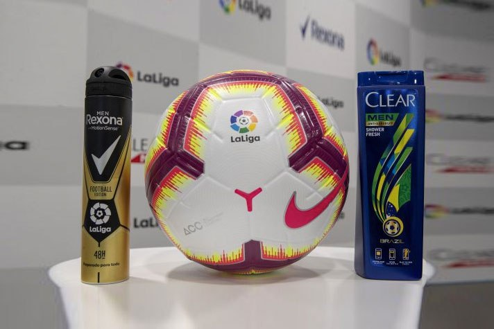 LALIGA AND UNILEVER REACH SPONSORSHIP AGREEMENT FOR CLEAR MEN & REXONA BRANDS - Brand Spur