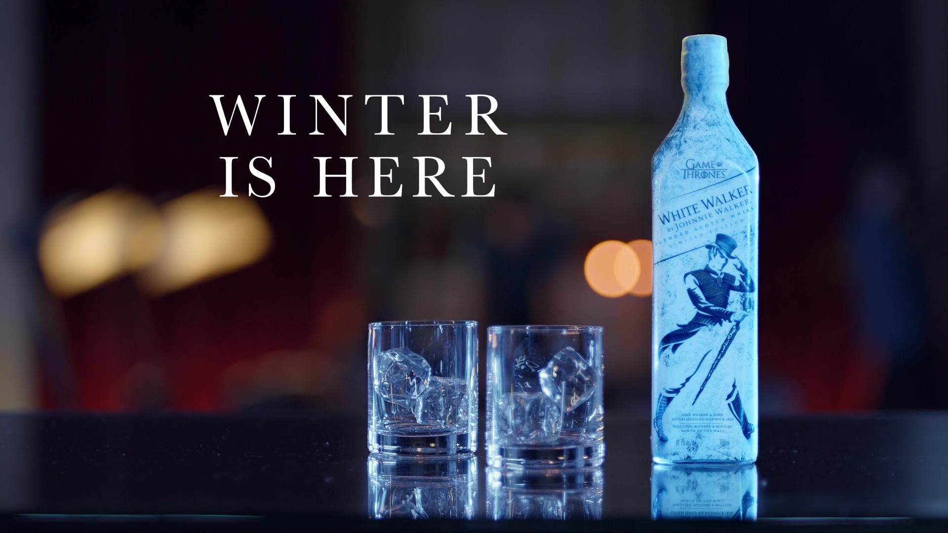 Johnnie Walker Launches White Walker Whisky For Game Of Thrones