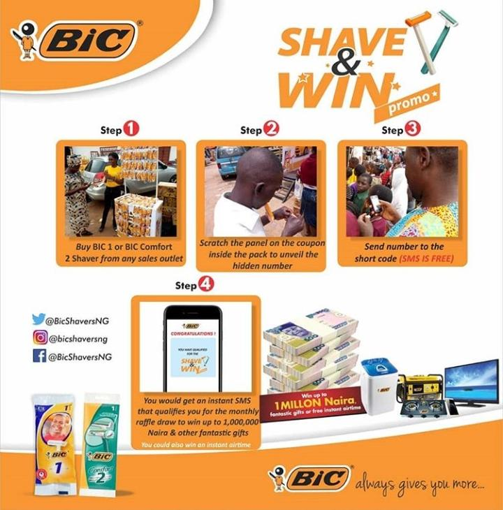 Have you participated in the #ShaveAndWin promo?