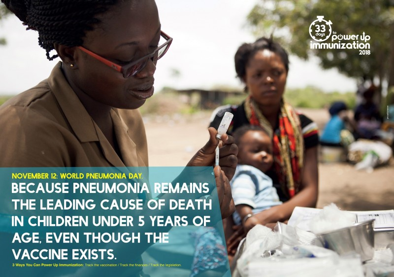 World Pneumonia Day: Pneumonia accounts for 16% of all deaths of children under the age of 5 years, despite being preventable and treatable! - Brand Spur