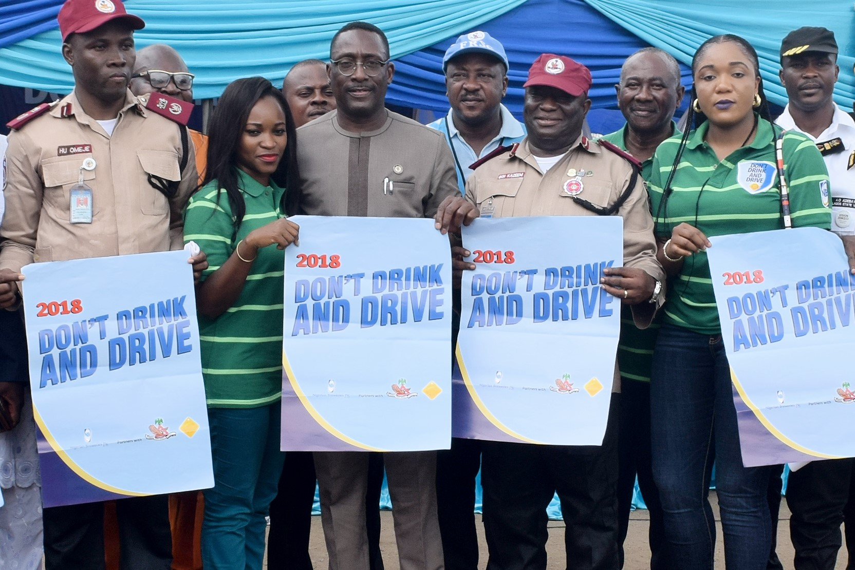 "NB/FRSC Hold Mega Rally on ""Don't Drink and Drive"" Campaign in Lagos"