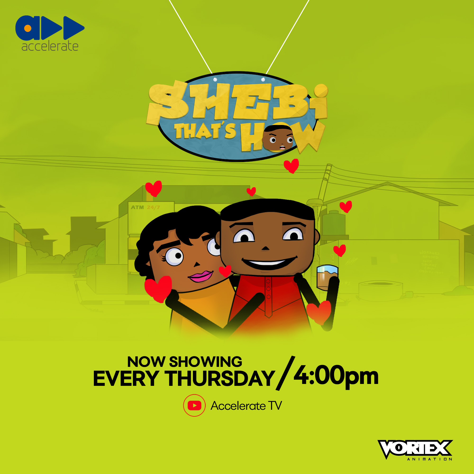 Accelerate Launches 'Shebi That's How' With Comedian Ebiye Victor
