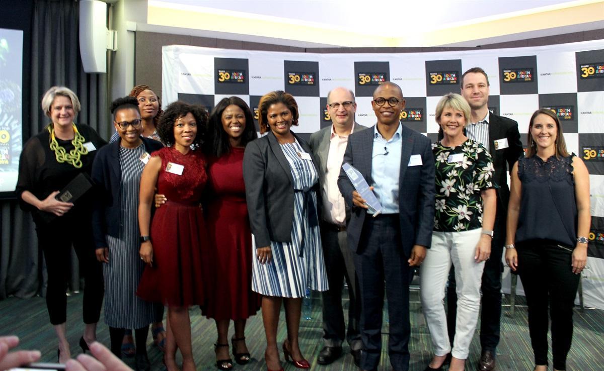 WPP, Kantar Millward Brown rank SA's most valuable brands, as Local banks shine at inaugural BrandZ Top 30 Awards