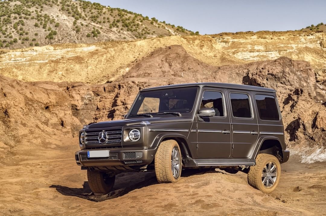 The New G-Class: Iconic Off-Roader Now In Nigeria (Pictures)