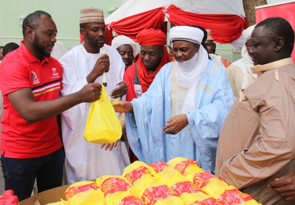 Airtel Fetes 1,000 in Sokoto