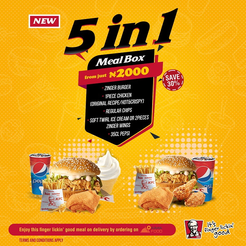 KFC Returns With An Exciting New Deal: The 5-In-1 Meal Box! - Brand Spur