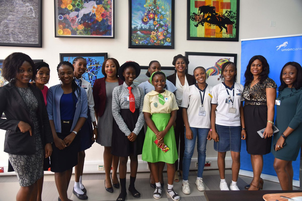 Photo News: Union Bank Lead Camp 2018 Girls Mentoring