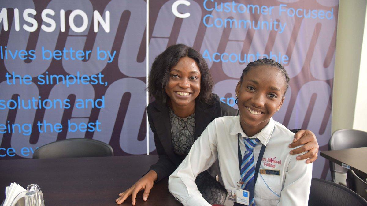 Photo News: Union Bank Lead Camp 2018 Girls Mentoring