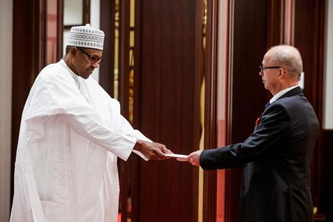 The New Ambassador of Finland Presents his Credentials to the President of Nigeria - Brand Spur