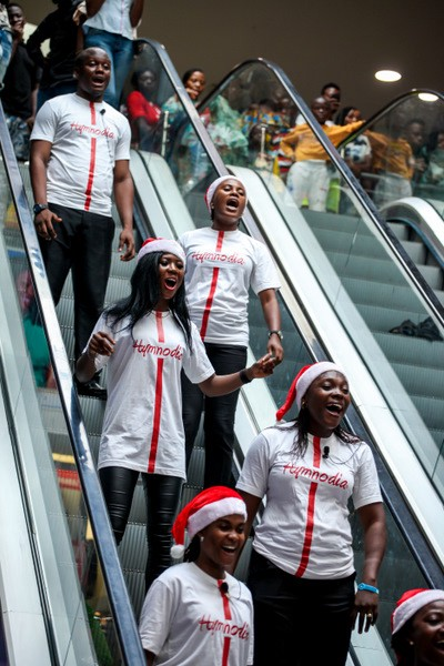 Hymnodia Flags-off in Grand Style in Lagos (Pictures)