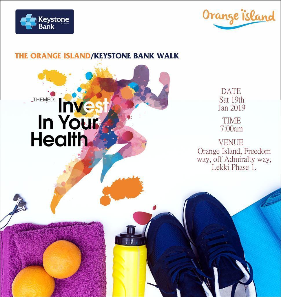 Keystone Bank, Orange Island Promote Healthy Living - Brand Spur