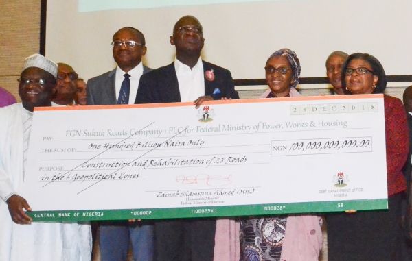 Image result for Sukuk bond: Ministry of works receives N100bn for road projects