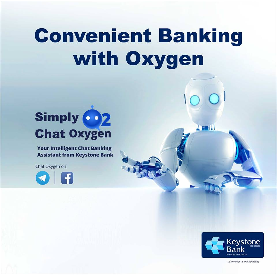 Keystone Bank Unveils 'Oxygen Chat' Banking' - Brand Spur