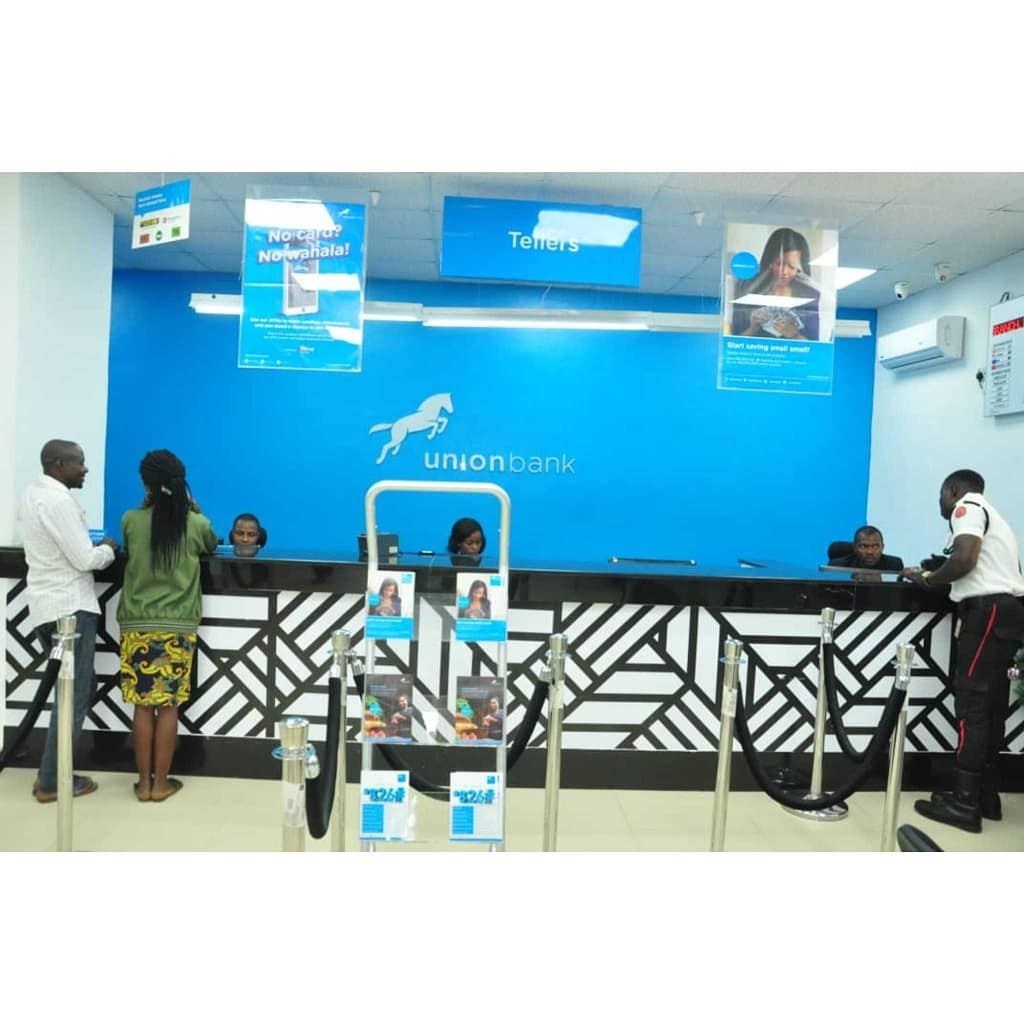 Fitch Affirms Union Bank of Nigeria PLC at 'B-'; off RWN; Outlook Negative