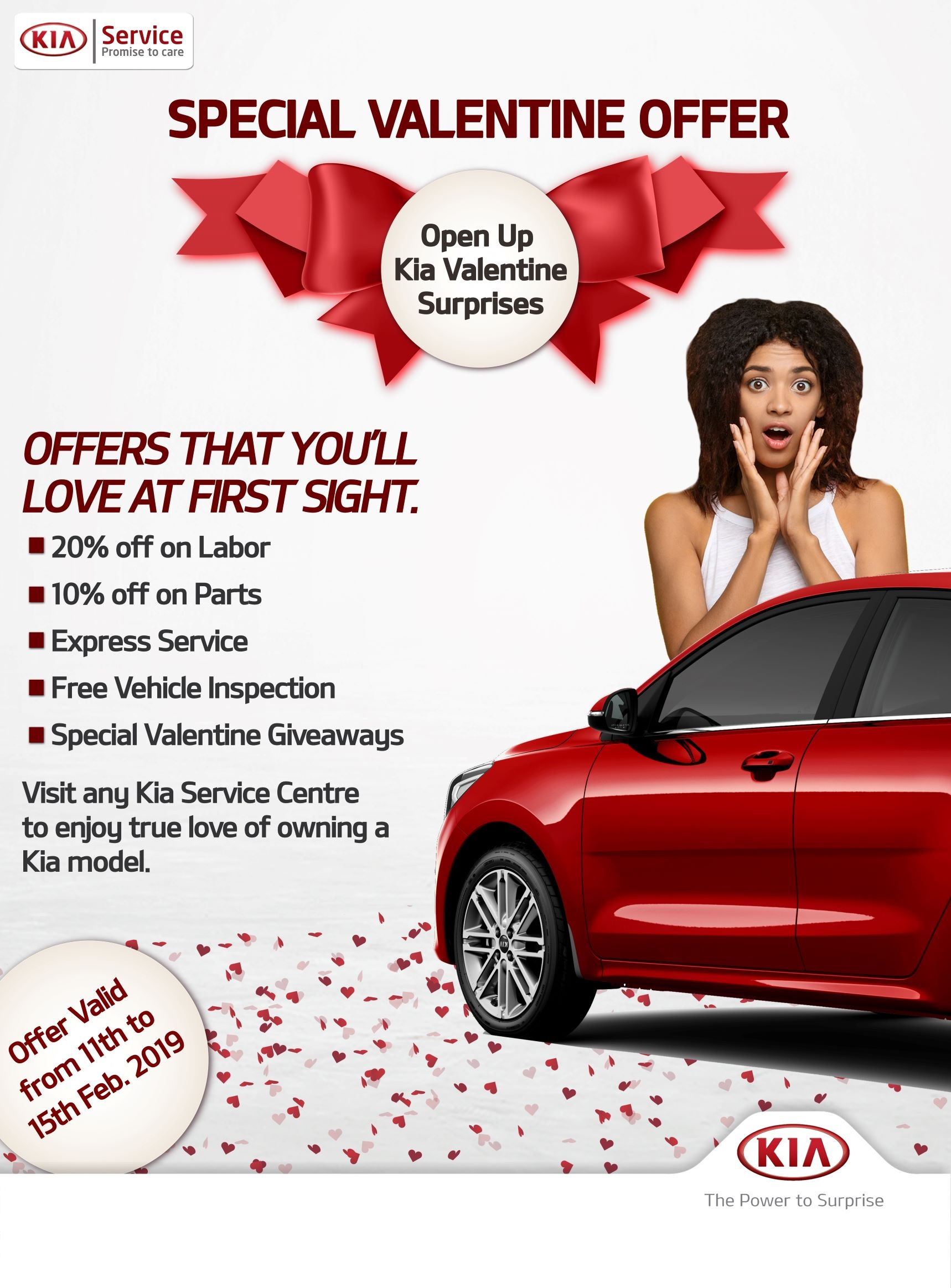 Kia Special Valentine Promo. Offers that you'll love at first sight - Brand Spur