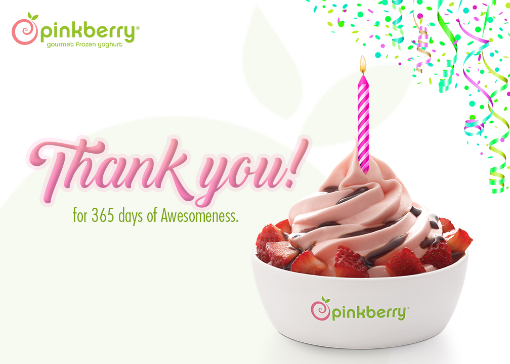 Pinkberry Celebrates 1st Anniversary With New Flavor And Promotions