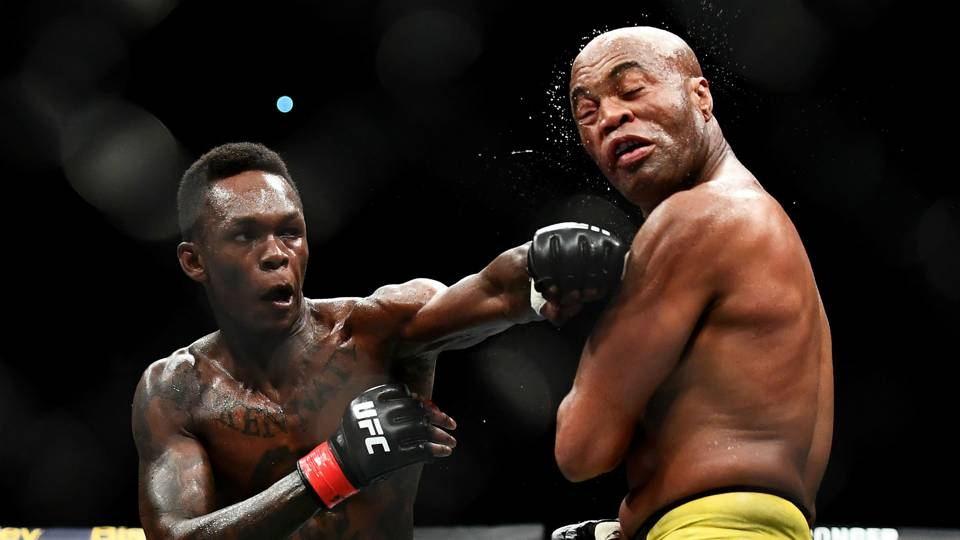Nigerian Fighter, Isreal Adesanya Defeats His Mentor, Anderson Silva