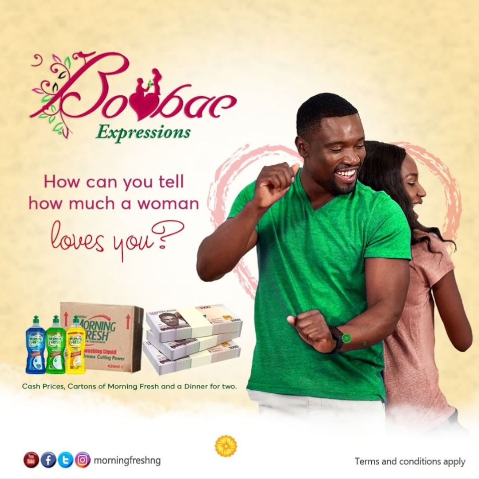 Valentine: Morning Fresh BooBaeExpressions Contest!!! - Brand Spur