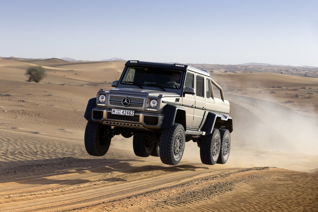 40 Years of G-Class: Weststar Celebrates the Iconic Off-Roader in Nigeria (Pictures)