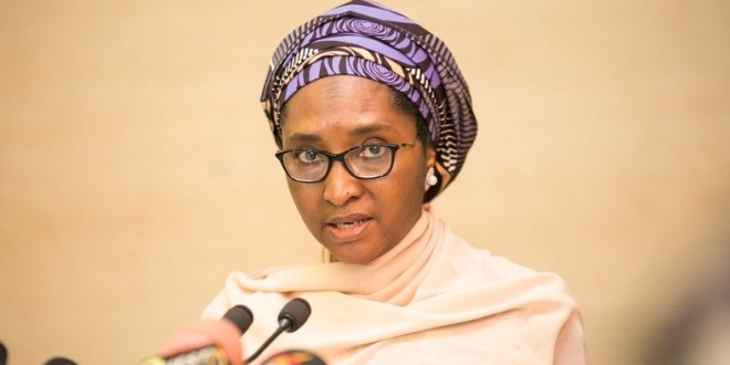 Image result for inages of Finance Minister Mrs. Zainab Ahmed