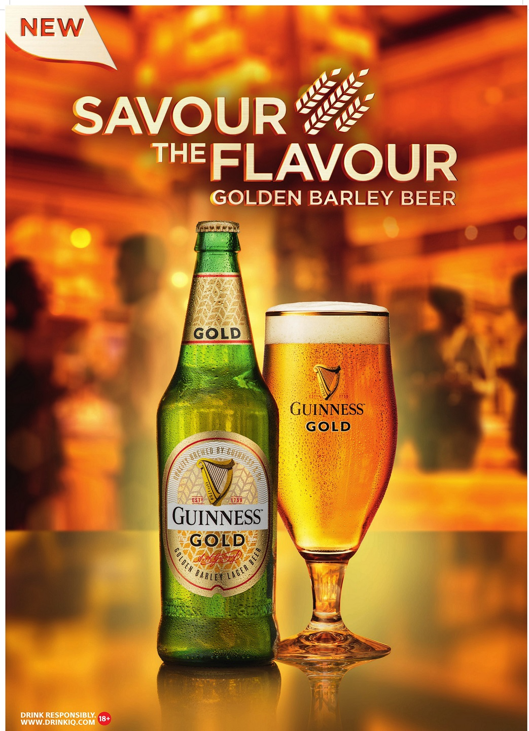 Guinness debuts in Premium Lager category with Guinness Gold - Brand Spur
